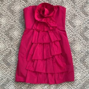 NWOT BCBG fuchsia party dress size 6